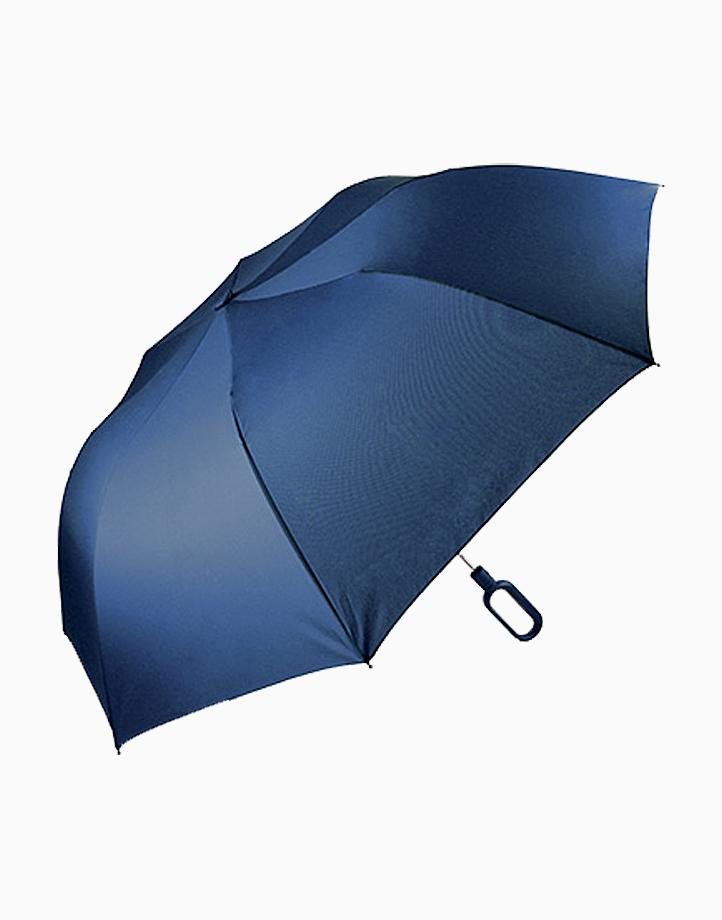Mini Hook Umbrella by Lexon   Dark Blue