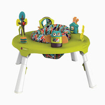 Portaplay convertible activity center forest friends