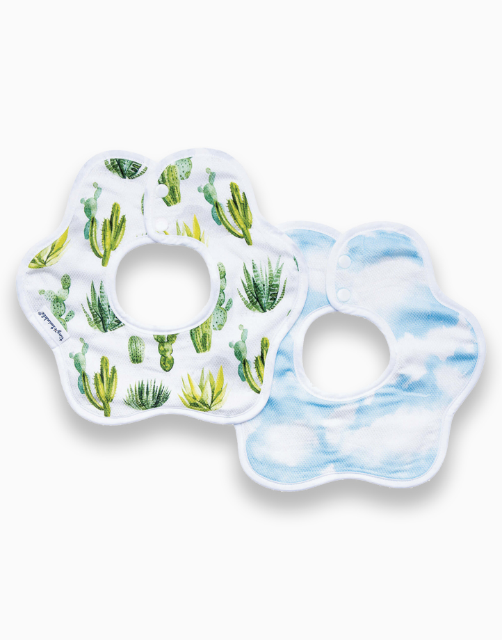 Roundabout Bib (2-Pack) by Tiny Twinkle | Cacti Set