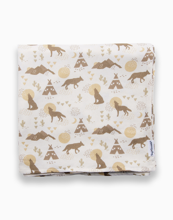 Swaddle Blanket by Tiny Twinkle   Coyote