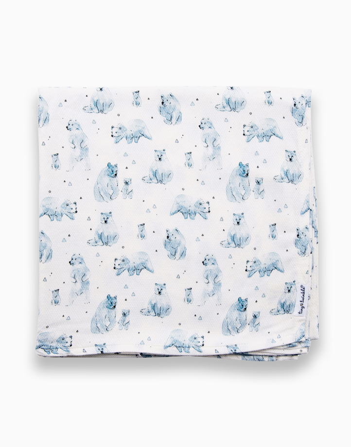 Swaddle Blanket by Tiny Twinkle   Bear