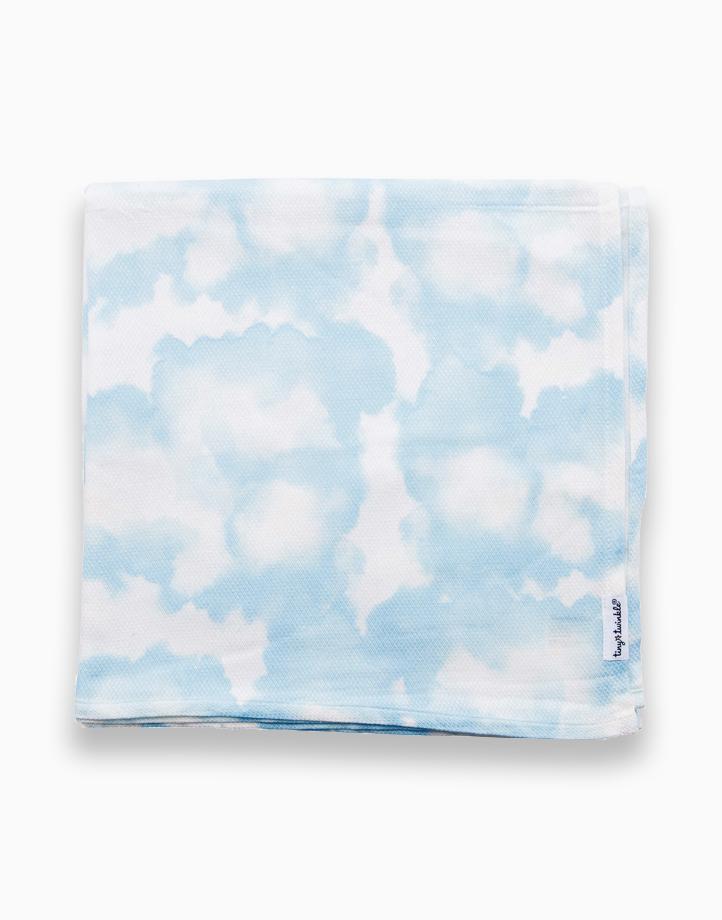 Swaddle Blanket by Tiny Twinkle   Blue Skies