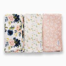 Swaddle blanket 3pack blush set 1