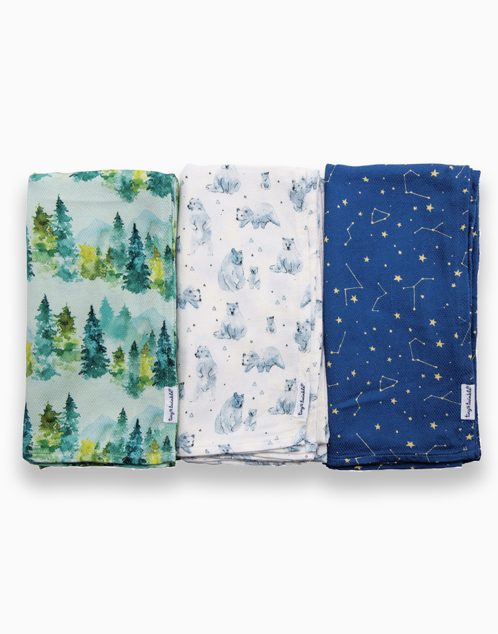 Swaddle Blanket (3-Pack) by Tiny Twinkle | Forest Set