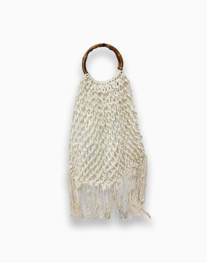 Macrame Cotton Bag by Habi Home