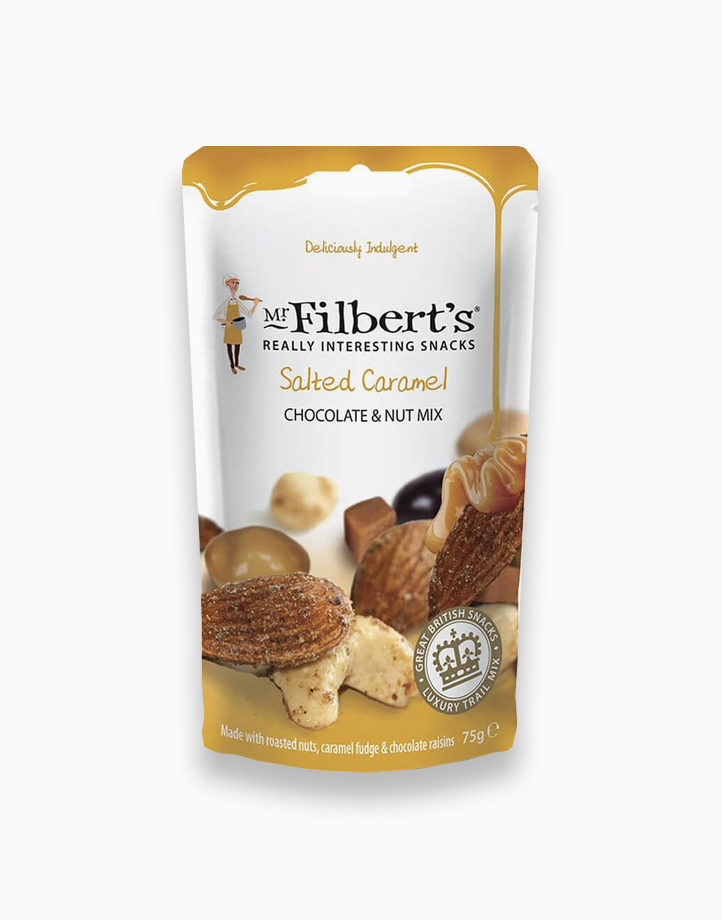 Mr. Filbert's Salted Caramel Chocolate and Nut Mix (75g) by Raw Bites