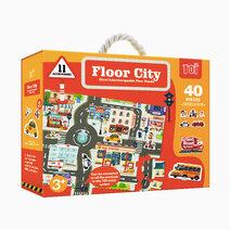 Little hippo giant floor puzzle city