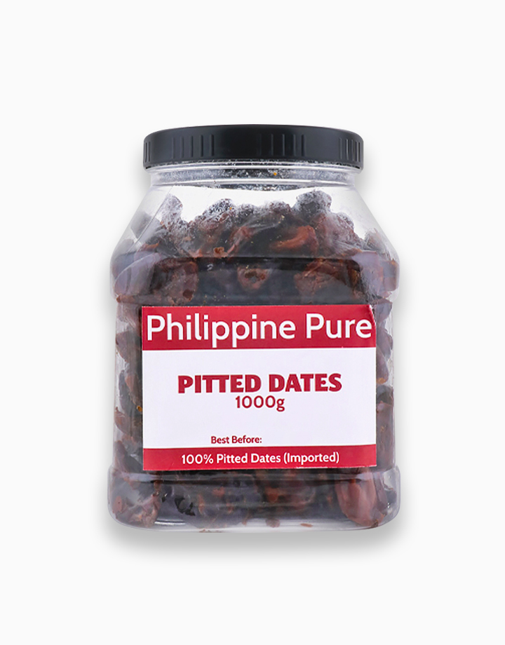 Pitted Dates (1000g Jar) by Philippine Pure