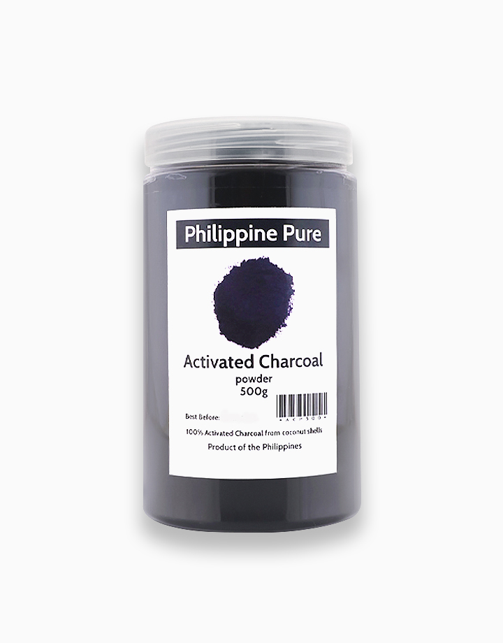 Activated Charcoal Powder (500g) by Philippine Pure