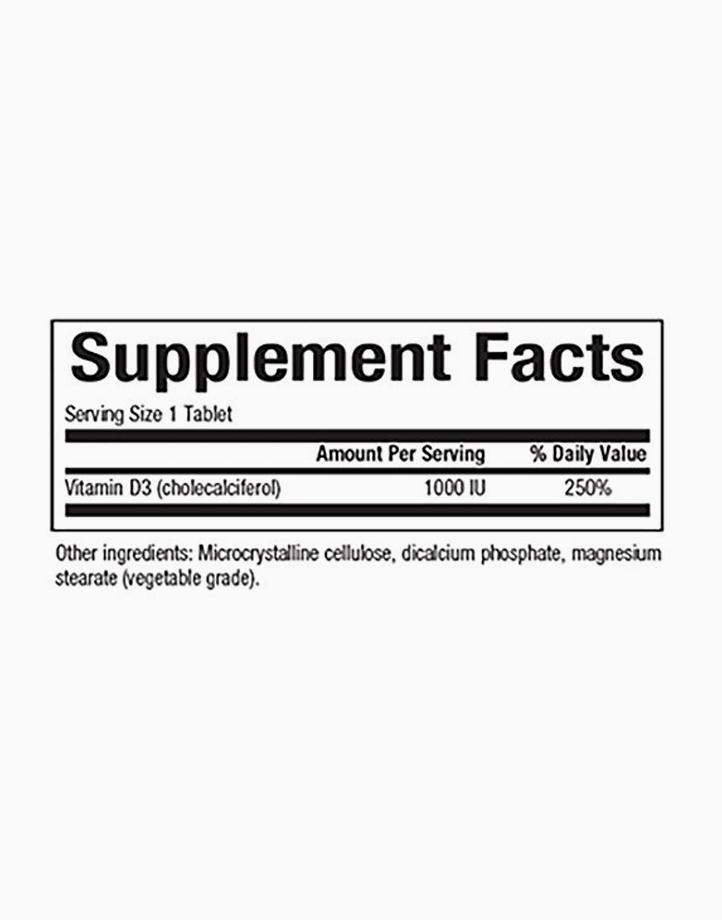 Vitamin D3 1000IU (25mcg, 90 Tablets) by Natural Factors