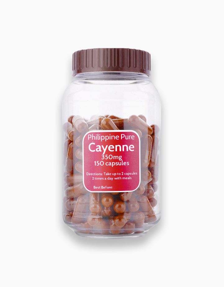 Cayenne Capsules (150 Capsules) by Philippine Pure