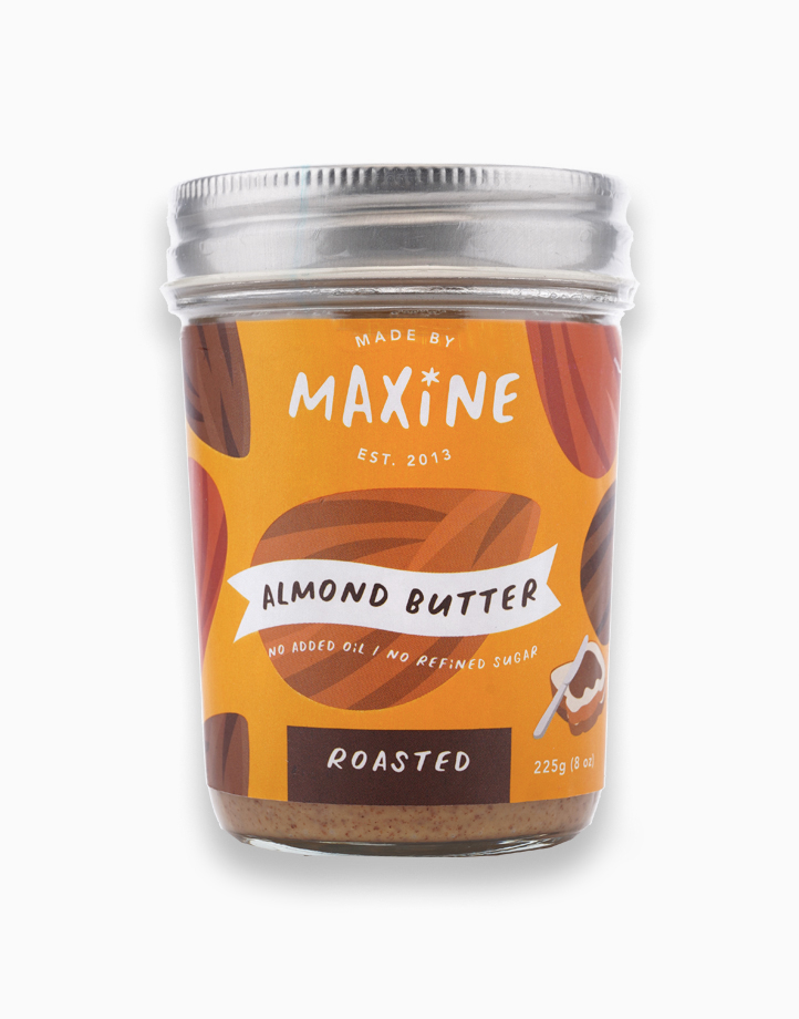 Almond Butter Roasted (225g) by Made by Maxine