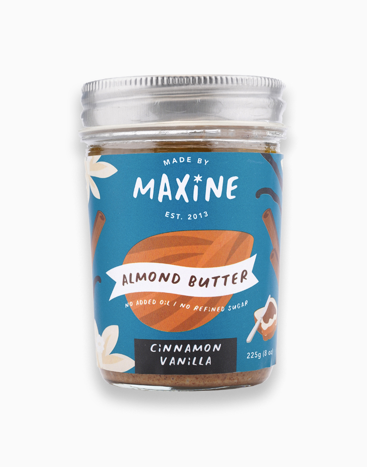 Almond Butter - Cinnamon Vanilla (225g) by Made by Maxine