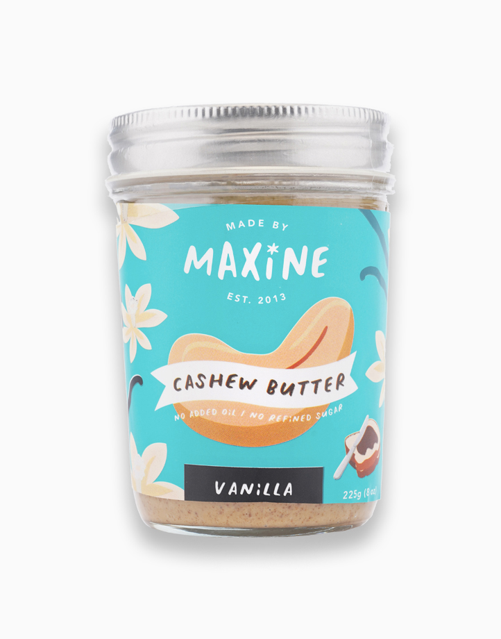 Cashew Butter - Vanilla (225g) by Made by Maxine