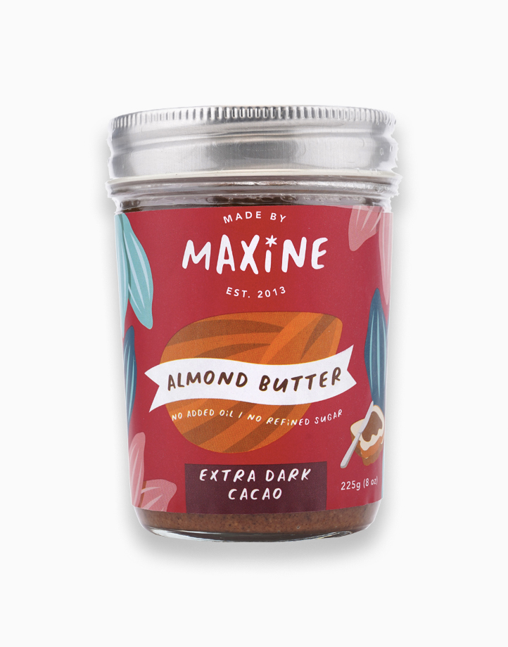 Almond Butter - Extra Dark Cacao (225g) by Made by Maxine