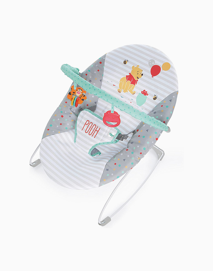 Winnie The Pooh Happy Hoopla Vibrating Bouncer by Bright Starts