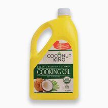 Coconut kingorganic premium coconut cooking oil %281.6 liter%29