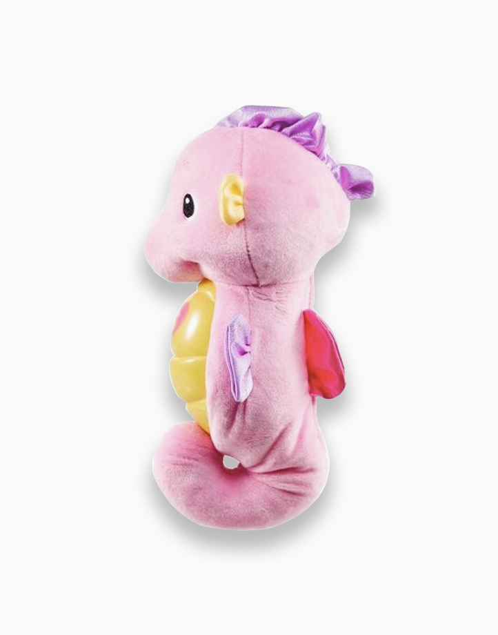 Infant Sooth & Glow Seahorse by Fisher Price | Pink
