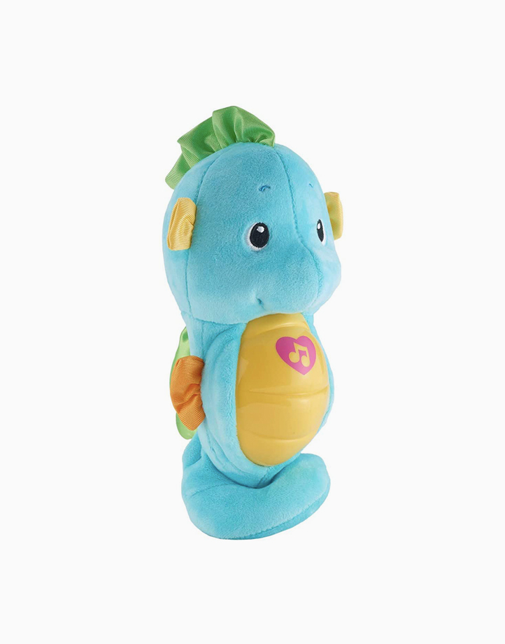 Infant Sooth & Glow Seahorse by Fisher Price | Blue