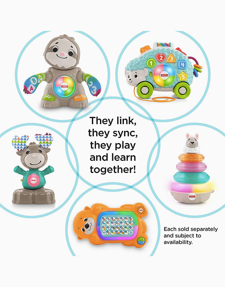 Infant A To Z Otter by Fisher Price