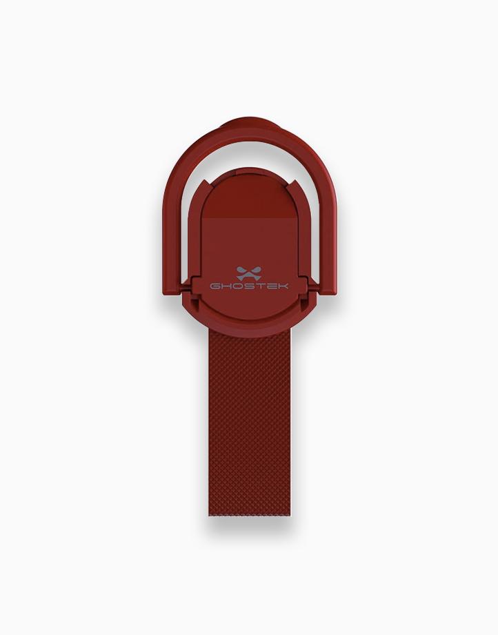 Loop Finger Grip and Kickstand by Ghostek   Solid Red