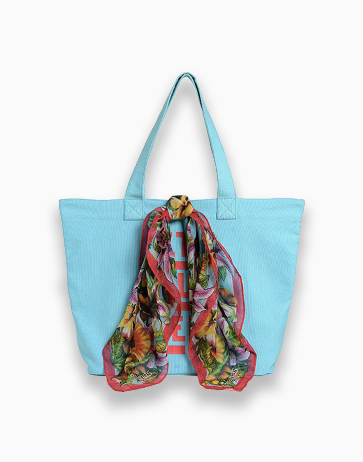 Trendy Shopping Bag by Havaianas   Blue