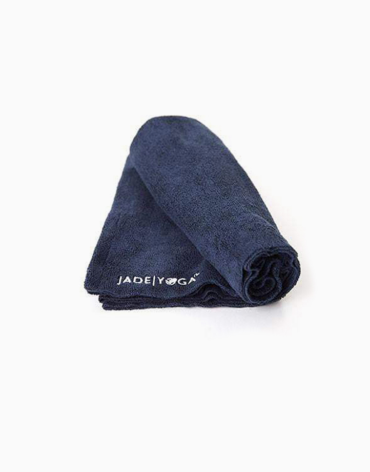 Microfiber Hand Towel by Aura Athletica   Midnight Blue