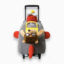 Airplane Bear Plush Roller by CommonThread