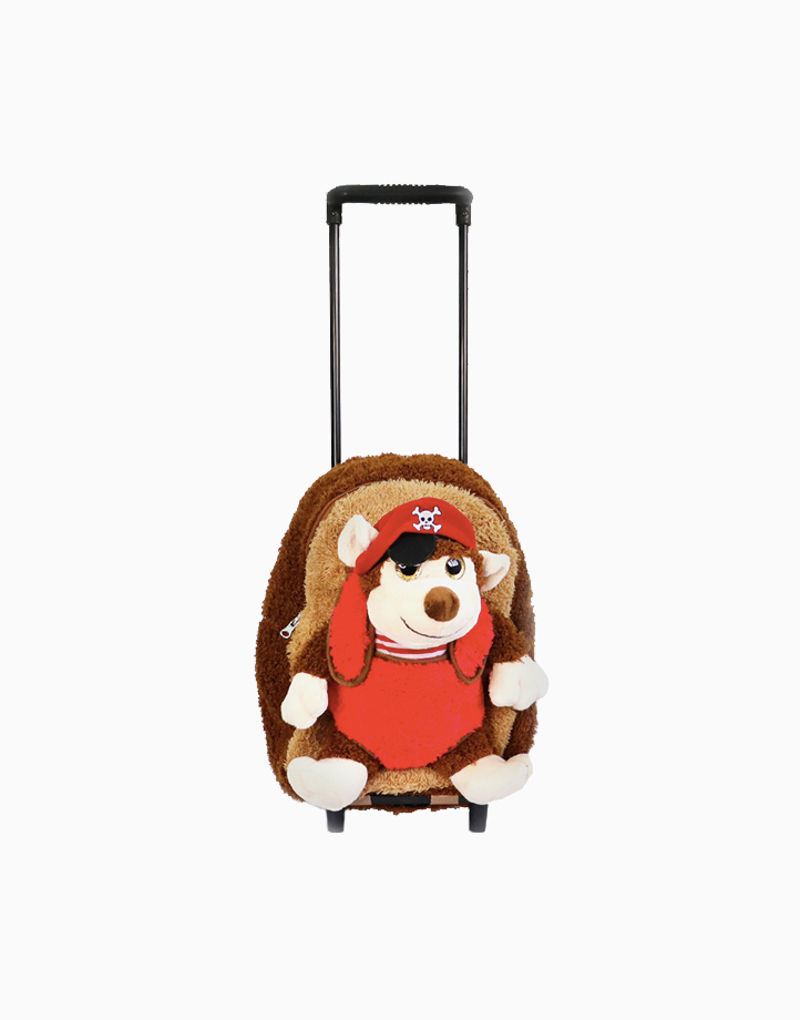 Pirate Monkey Plush Roller by CommonThread