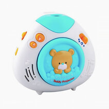 Lullaby teddy projector   blue