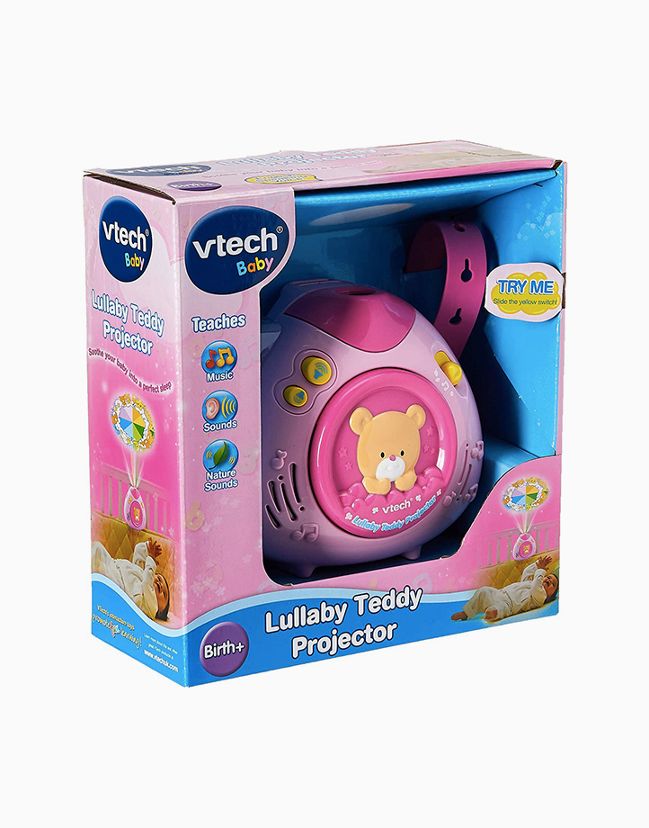 Lullaby Teddy Projector by VTech | Pink