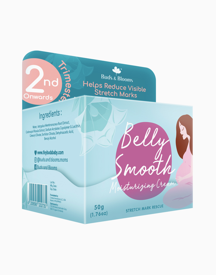 Belly Smooth Stretch Mark Revival Cream (50g) by Buds & Blooms