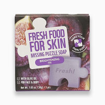 Re fresh food brightening fig missing puzzle soap 30g 1