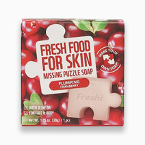 Re fresh food plumping cranberry missing puzzle soap 30g 1