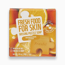 Re fresh food refreshing orange missing puzzle soap 30g 1
