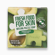 Re fresh food smoothing avocado missing puzzle soap 30g 1