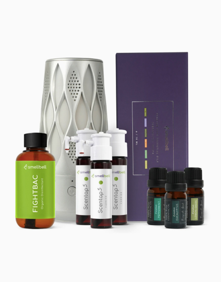 FightBac Organic Disinfection System with Essential Oil Pack by Smellbell