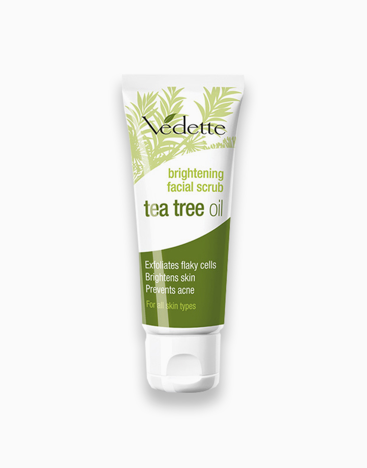 Brightening Facial Scrub with Tea Tree Oil by Vedette