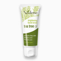 Re brightening facial scrub with tea tree oil