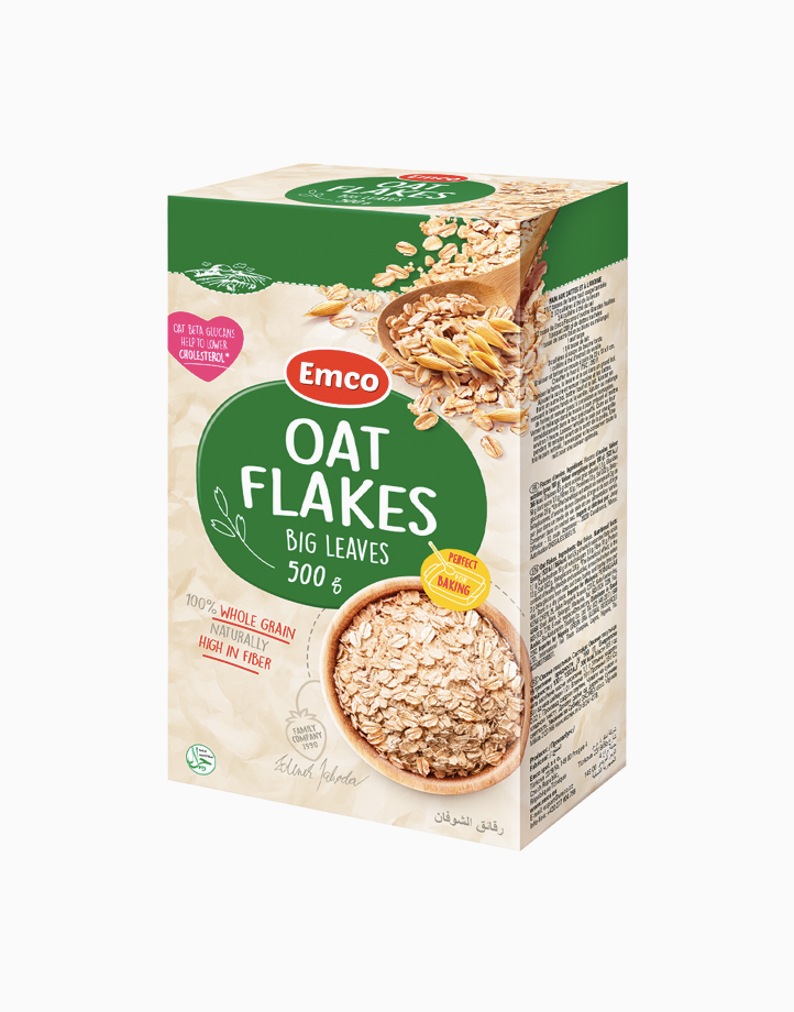 Emco Oat Flakes Big Leaves Rolled Oats (500g) by Musli