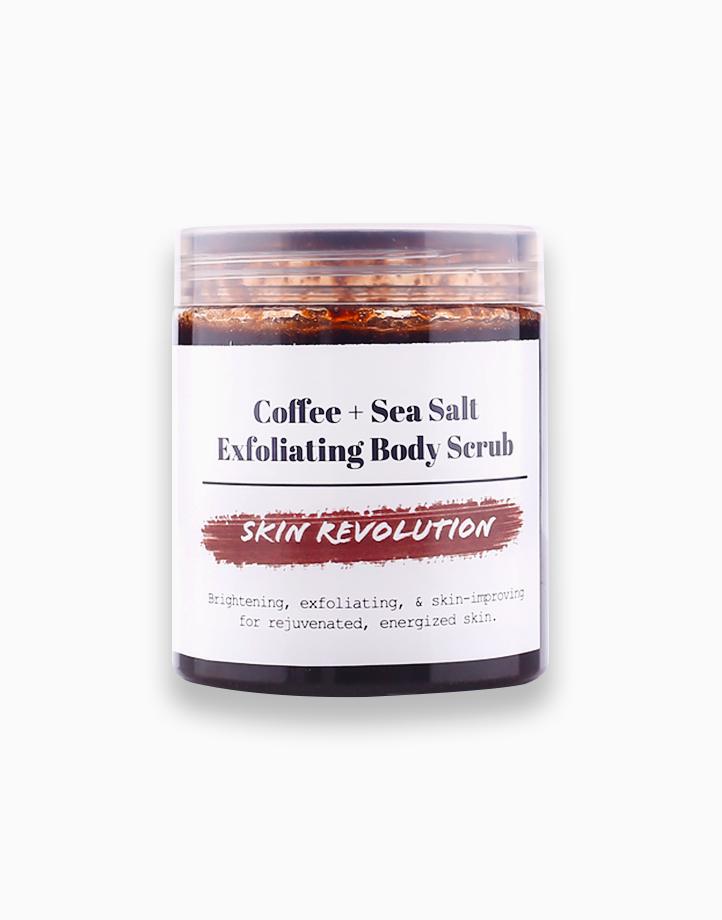Coffee + Sea Salt Exfoliating Body Scrub by Skin Revolution