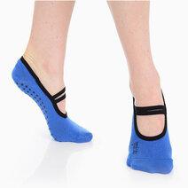 Great soles   jules ballet grip sock   cobalt blue