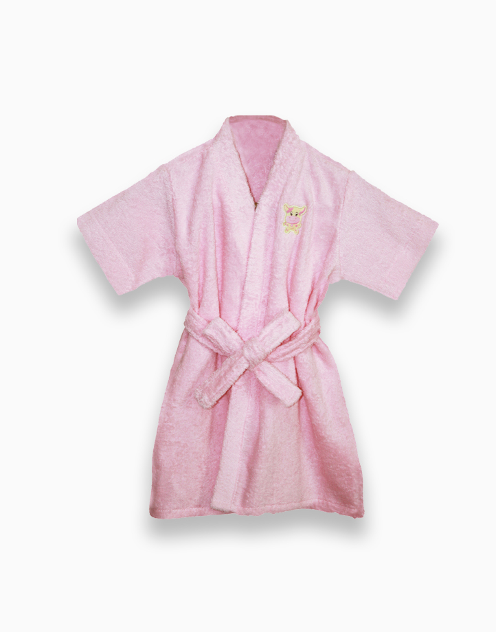 Ms. Moo Terry Robe by Baby Martel   Dolly Pink