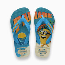 Kids Minions (Beige/Turquoise) by Havaianas