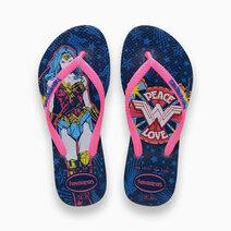 Kids Slim Wonder Woman (Blue Star) by Havaianas