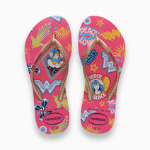 Kids Slim Wonder Woman (Hollywood Rose)  by Havaianas