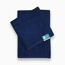 Bath towel nazarene blue