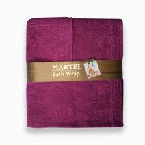 Bath wrap magenta 1