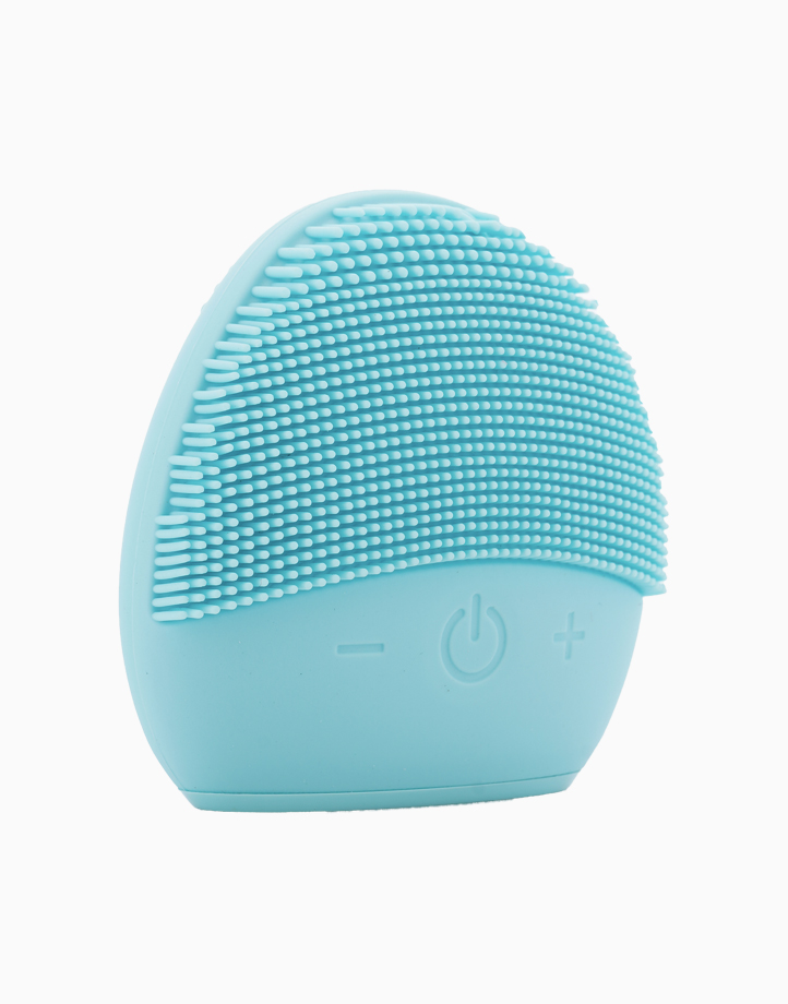 Electric Silicone Facial Cleanser in Blue by Dr. Beauty