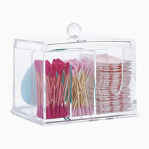 Re 3 compartment acrylic cosmetic organizer %28no. 6014%29